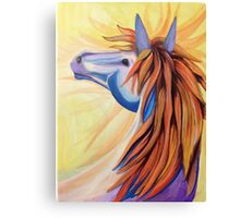 A Horse named Wildfire Canvas Print