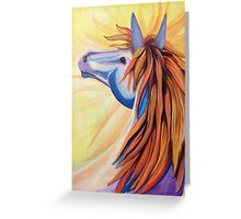 A Horse named Wildfire Greeting Card