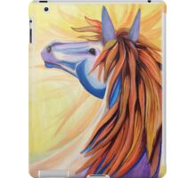 A Horse named Wildfire iPad Case/Skin