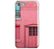 Pink•Off Whyte iPhone Case/Skin