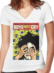 TFTS | Boys Women's Fitted V-Neck T-Shirt