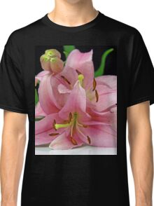 Two Lilies close up Classic T-Shirt