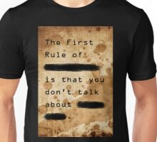 """The First Rule"" Unisex T-Shirt"