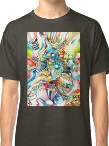 Unlimited Curiosity - Watercolor and Felt Pen Classic T-Shirt