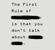 """""""The First Rule"""" - Sans Background T-Shirt"""