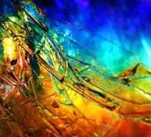 Rainbolic - Experimental Prism Photograph #14 Sticker