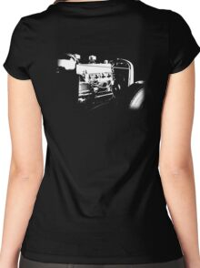 Chevrolet Rat BW © Women's Fitted Scoop T-Shirt