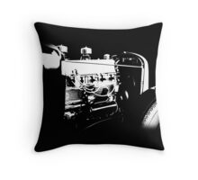 Chevrolet Rat BW © Throw Pillow