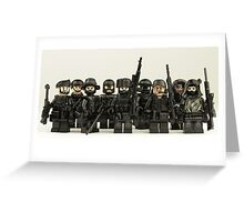 LEGO Snipers Greeting Card