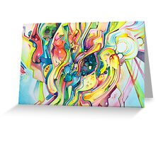 Timeless June 26 2007 - Watercolor Painting Greeting Card