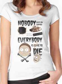 Come Watch TV Women's Fitted Scoop T-Shirt