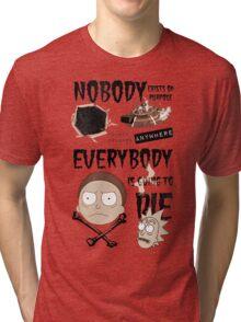 Come Watch TV Tri-blend T-Shirt