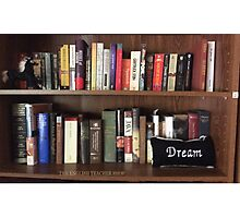 Bookshelf Dream Photographic Print
