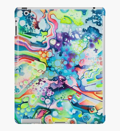 Parts of Reality Were Missing, But Which Parts? - Watercolor Painting iPad Case/Skin