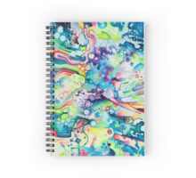 Parts of Reality Were Missing, But Which Parts? - Watercolor Painting Spiral Notebook