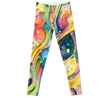 Timeless June 26 2007 - Watercolor Painting Leggings