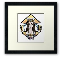 Zelda, Princess of Hyrule Framed Print