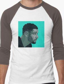 Tim Duncan Men's Baseball ¾ T-Shirt