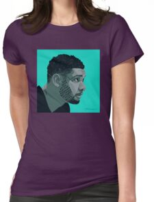 Tim Duncan Womens Fitted T-Shirt