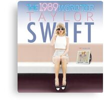 Taylor Swift The 1989 World Tour by bas Canvas Print