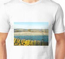 Derbyshire countryside near Shottle Unisex T-Shirt