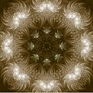 Chocolate Mosaic - Fractal Art by Maria Forrester