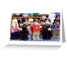 LEGO Big Bang Theory - Sheldon arrested Greeting Card