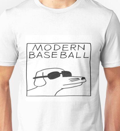 modern baseball dog Unisex T-Shirt