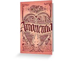 Amortentia Greeting Card