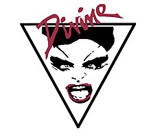 DIVINE  O.G.  -  ORIGINAL GLAM - Female Trouble Photographic Print