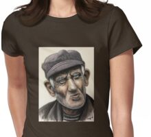 Kazart Old Man Womens Fitted T-Shirt
