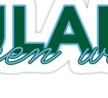 Tulane University Sticker