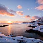 Sørvågen Sunset by Kristin Repsher