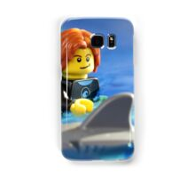 Stay calm.  He will only eat one of us! Samsung Galaxy Case/Skin
