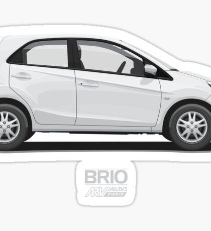 White Brio  Sticker