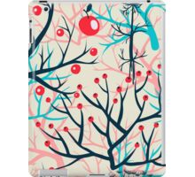 apples berries branch seamless ornament iPad Case/Skin