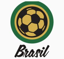Football coat of arms of Brazil by artpolitic