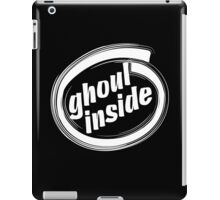 GHOUL INSIDE - solid white iPad Case/Skin