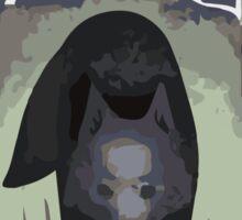 Wolf Tarot Card Sticker