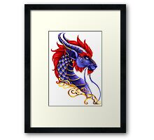 Royal Dragon Framed Print