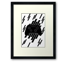 The One Controller Framed Print