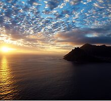 Hout Bay Sunset by Ludwig Wagner