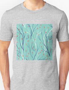 berries branch seamless ornament T-Shirt
