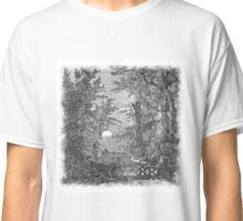 The Atlas of Dreams - Color Plate 4 b&w version Classic T-Shirt