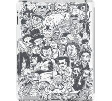 i love horror movie iPad Case/Skin