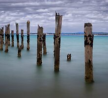 The Old Pier by Karine Radcliffe