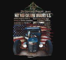 Hot Rod Invasion © Kids Tee