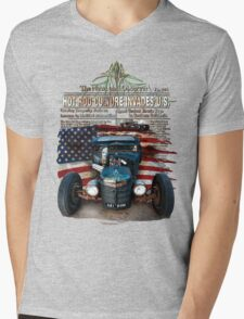 Hot Rod Invasion © Mens V-Neck T-Shirt