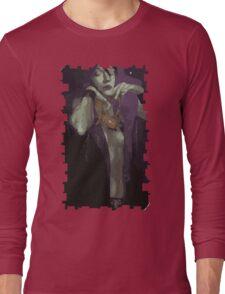 Morrigan Tarot Card Long Sleeve T-Shirt