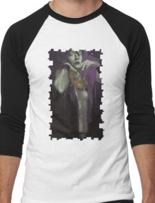Morrigan Tarot Card Men's Baseball ¾ T-Shirt